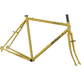 Surly Cross Check Ramme 700C, stoned ground mustard